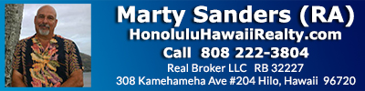 Marty Sanders (RA) Signature Homes Island Style Honolulu Hawaii 808-222-3804