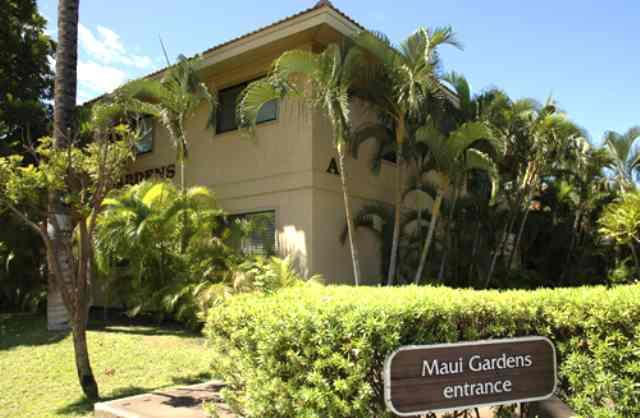 Maui Gardens The Kihei South Maui Hawaii State Condo