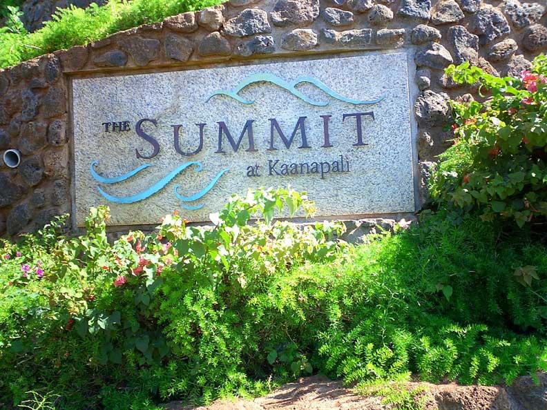 Summit At Kaanapali Phase I The Kaanapali Lahaina West