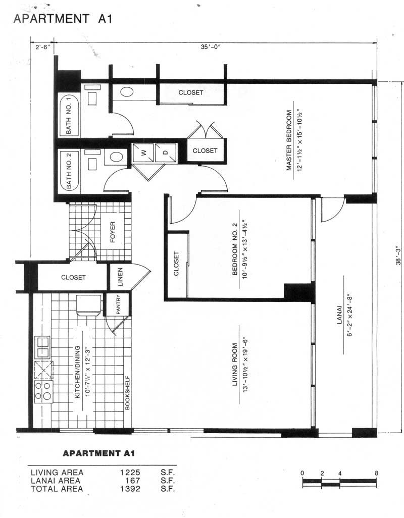 Makiki park place the honolulu hawaii state condo for Park place floor plans